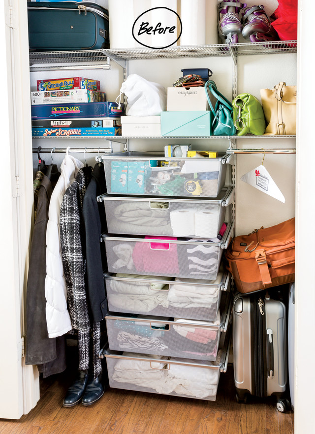 Everything From Purses, Rollerblades, Games, Luggage And Extra Toilet Paper  Was Stored In The Closet. She Yearned For Her Closet Systems To Work Extra  Hard ...