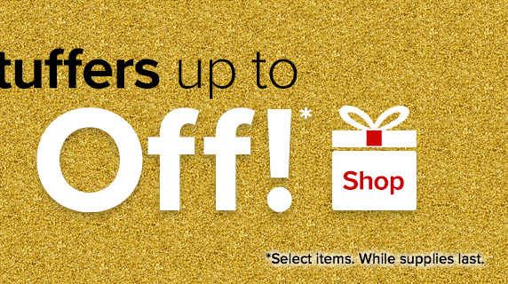 Stocking Stuffers up to 50% Off!*