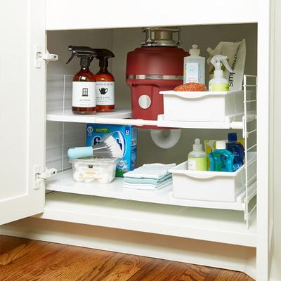 Under Sink Storage Tip