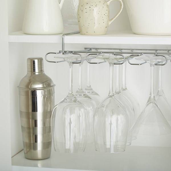 Step 5: Storing Glasses & Stemware