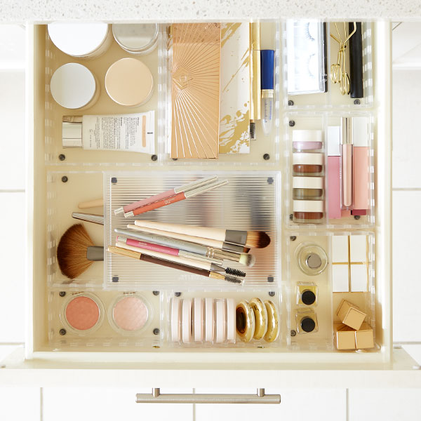 2fc1e9ced8 How To Organize Your Makeup - Step-By-Step Project   The Container Store