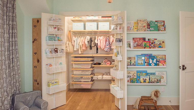 Baby Closet Organization Ideas