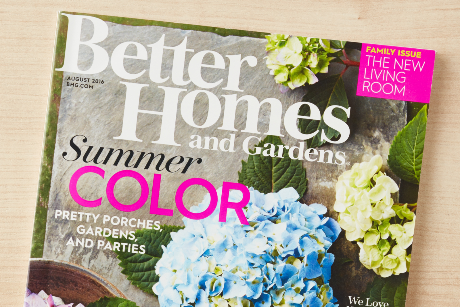 A Buzzworthy Better Homes And Gardens Magazine Container