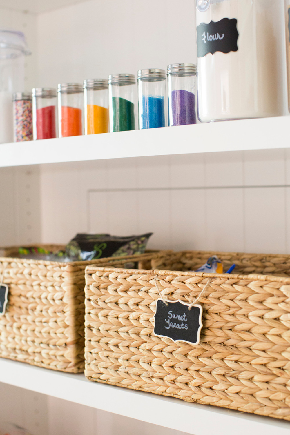 5 Steps To An Organized Pantry With Neat Method And The Container Store Container