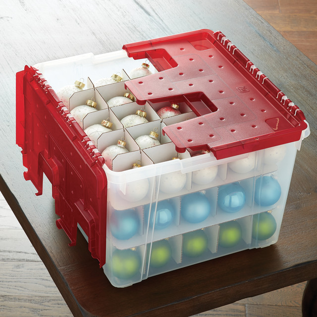Featured Product: Wing-Lid Ornament Storage Box - Post Holiday Happiness Container Stories