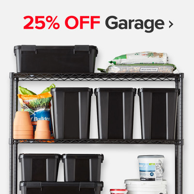 25% Off Garage