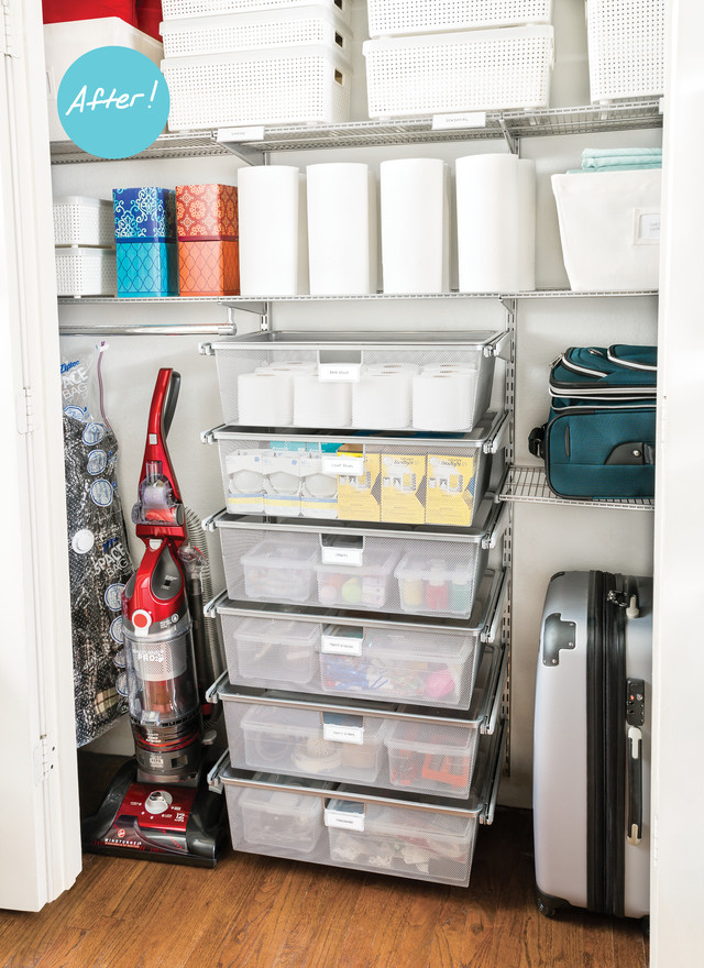 Closet Organization Ideas A Catch All Closet Finds Its