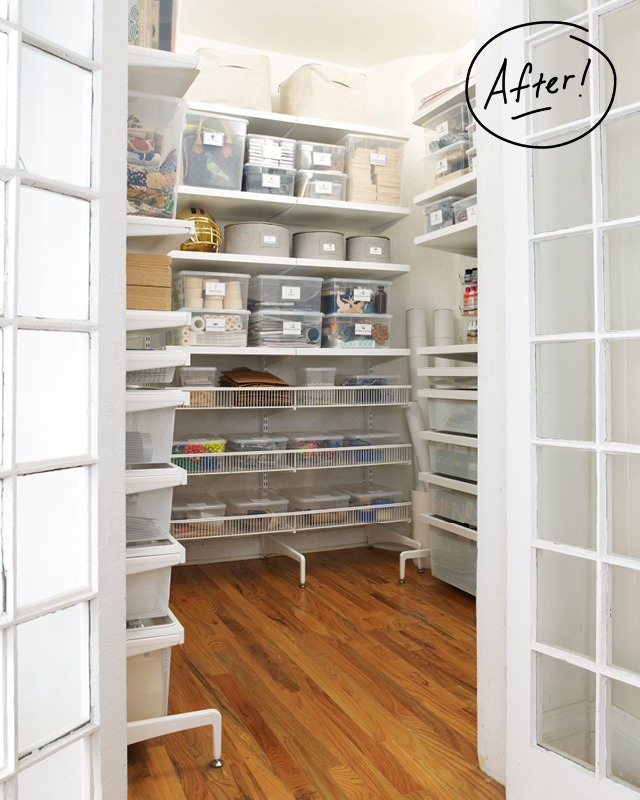 Closet organizers elfa winda 7 furniture - Container store home office ...