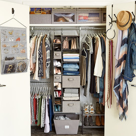 Project. How To Maximize A Small Closet