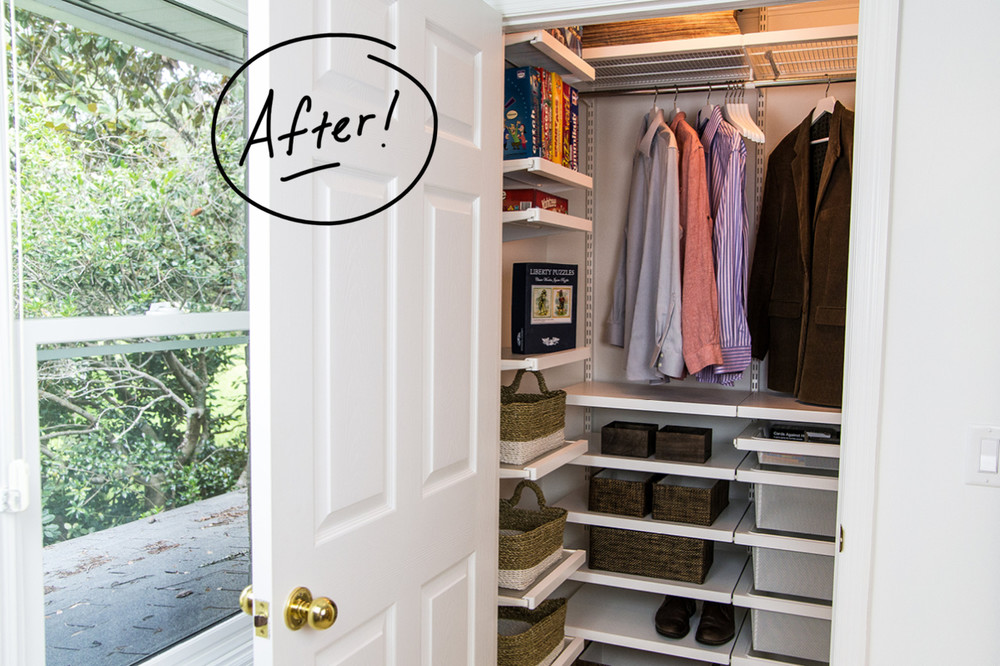 closet organizer plans