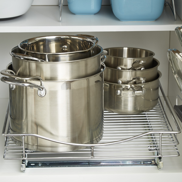 Step 4: Organize Pots, Pans, Food Storage Containers and Baking Sheets