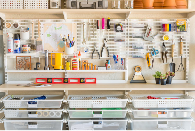 garage organizing ideas a single s guide to garage organization container 15716