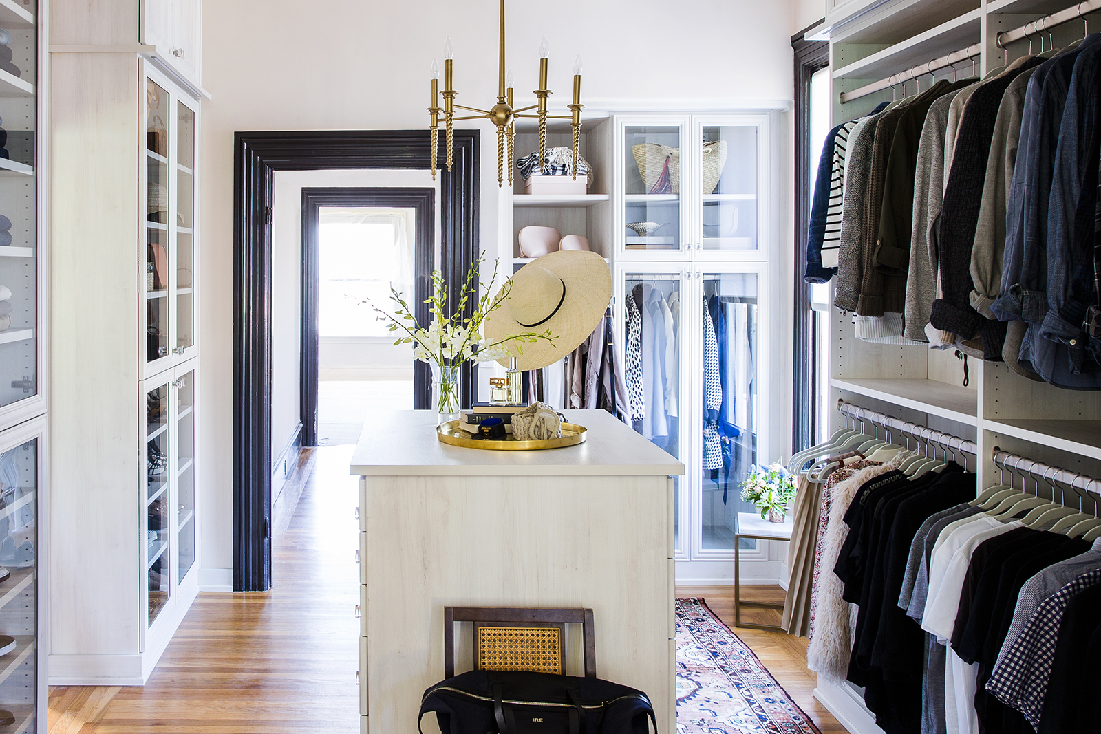 A Tcs Closet Makeover For Sunset Magazine S Editor In
