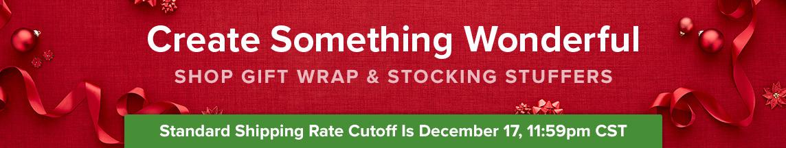 Shop Gift Wrap & Stocking Stuffers