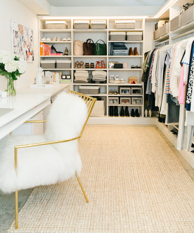 gold white closet the goop fashion closet gets a makeover with tcs closets