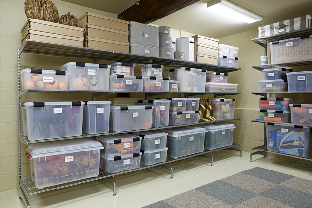 Basement Storage Ideas A Texas Sized Basement Gets An