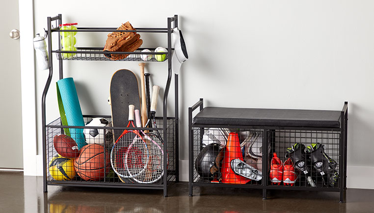 How To Organize Sports Gear