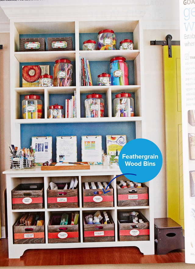 Getting Crafty In Better Homes Gardens Special Edition Secrets Of Getting Organized