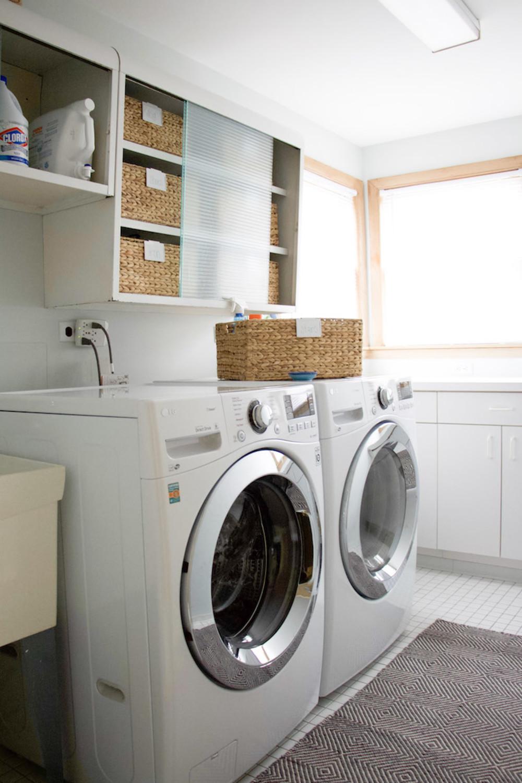 Laundry Room Organization Below Null