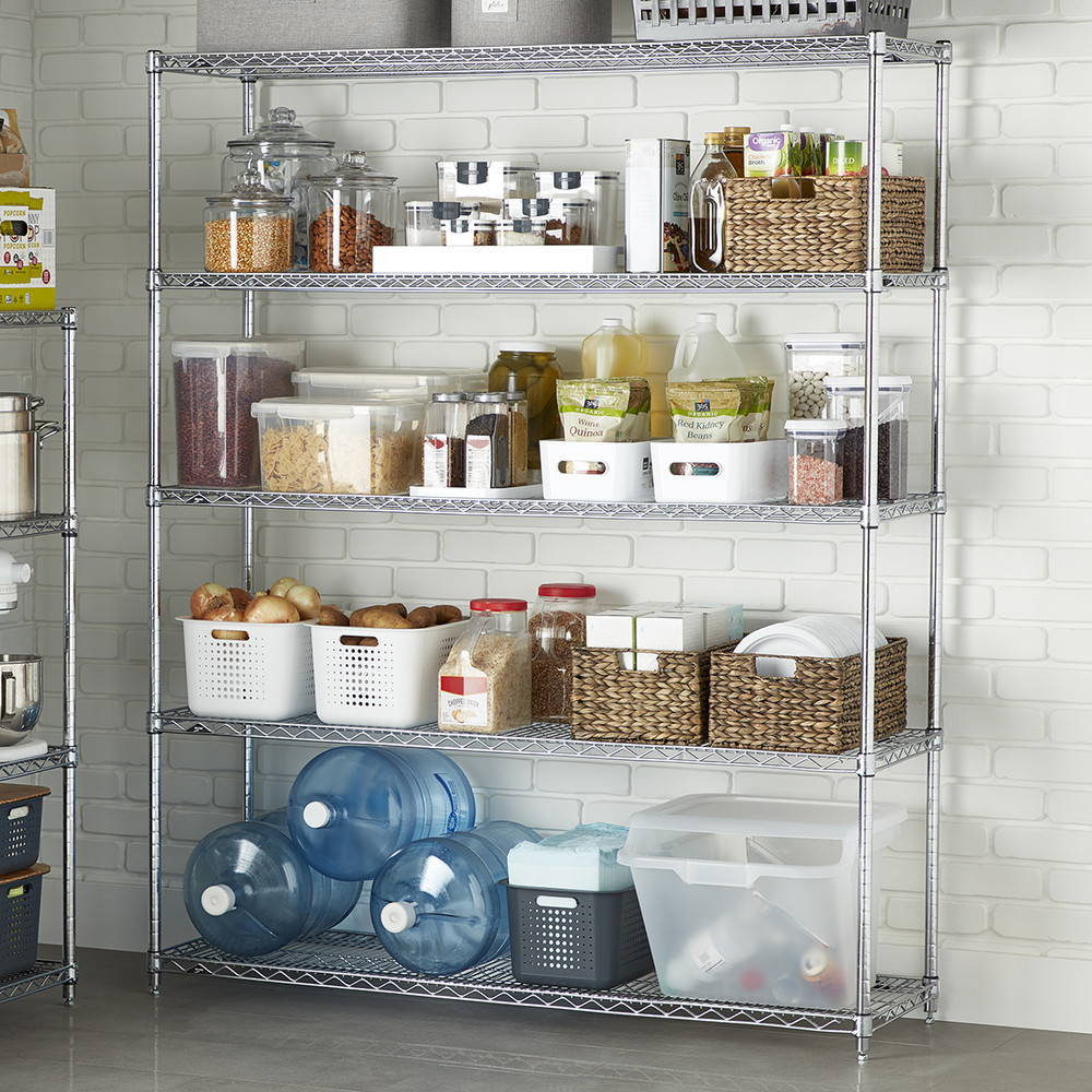 Metro Commercial Pantry Storage: No Built Ins? No Problem