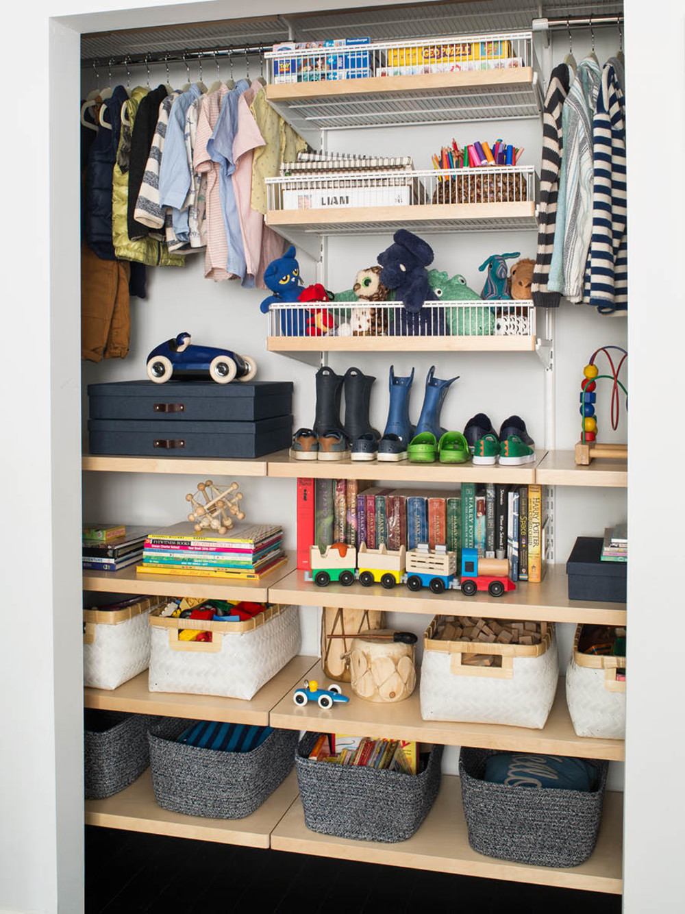 Featured Products White Birch Elfa Decor Kids Reach In Closet Bigso Marten Navy Office Storage Boxes Hampton Woven Bins With Handles