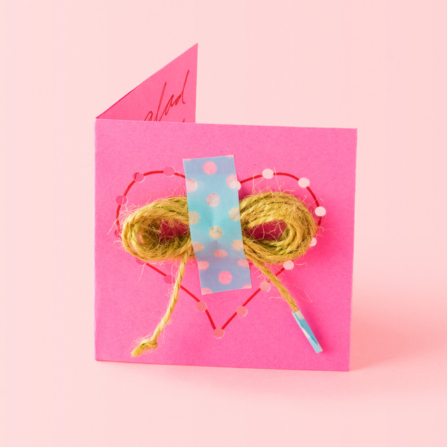 Love Notes – Construction Paper Valentine Cards