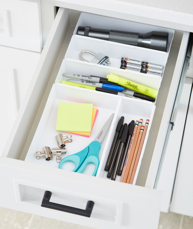 Organization Ideas For Junk Drawers: Junk Drawer Organization For Every Budget!