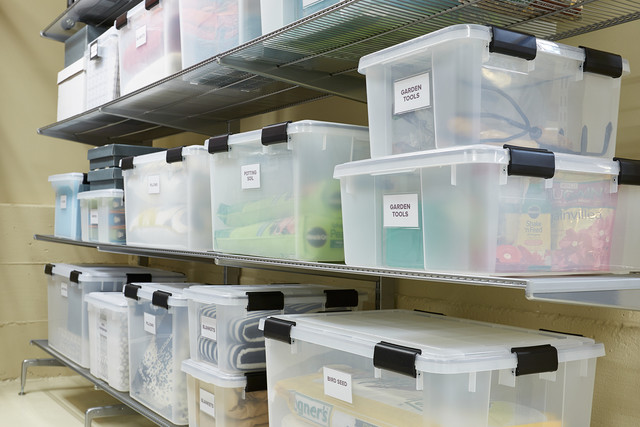 basement storage ideas a texas sized basement gets an organization