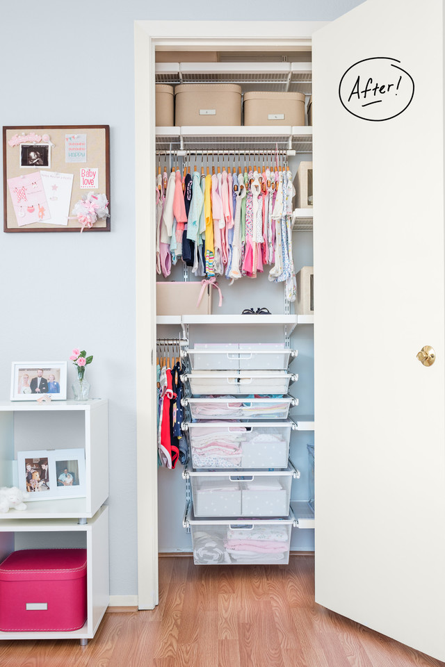 organize closet nursery organized to homemaking babys baby embracing a how s
