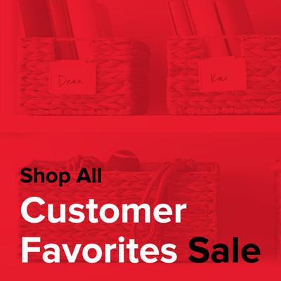 Shop All Customer Favorites Sale