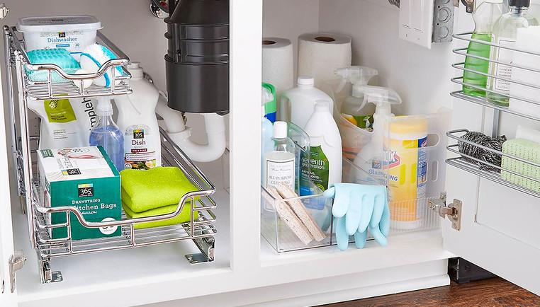Kitchen Sink Organization Ideas How To Organize A Kitchen Sink