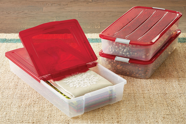 Featured Products: Holiday Buckle Underbed Storage Box // Holiday Underbed Storage  Boxes