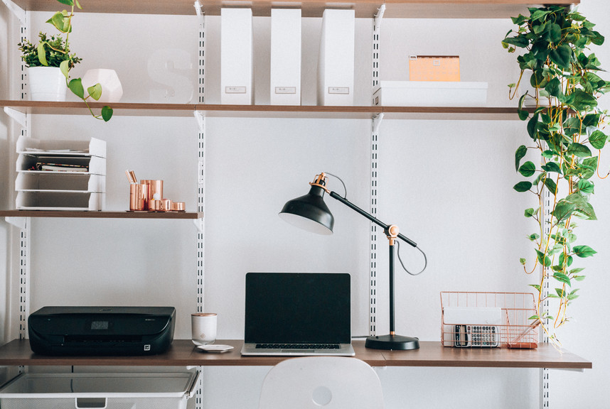 The Container Store & Modern Home Office Ideas | Container Stories