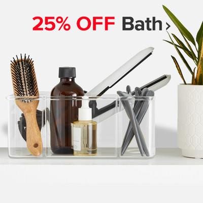 25% Off Bath