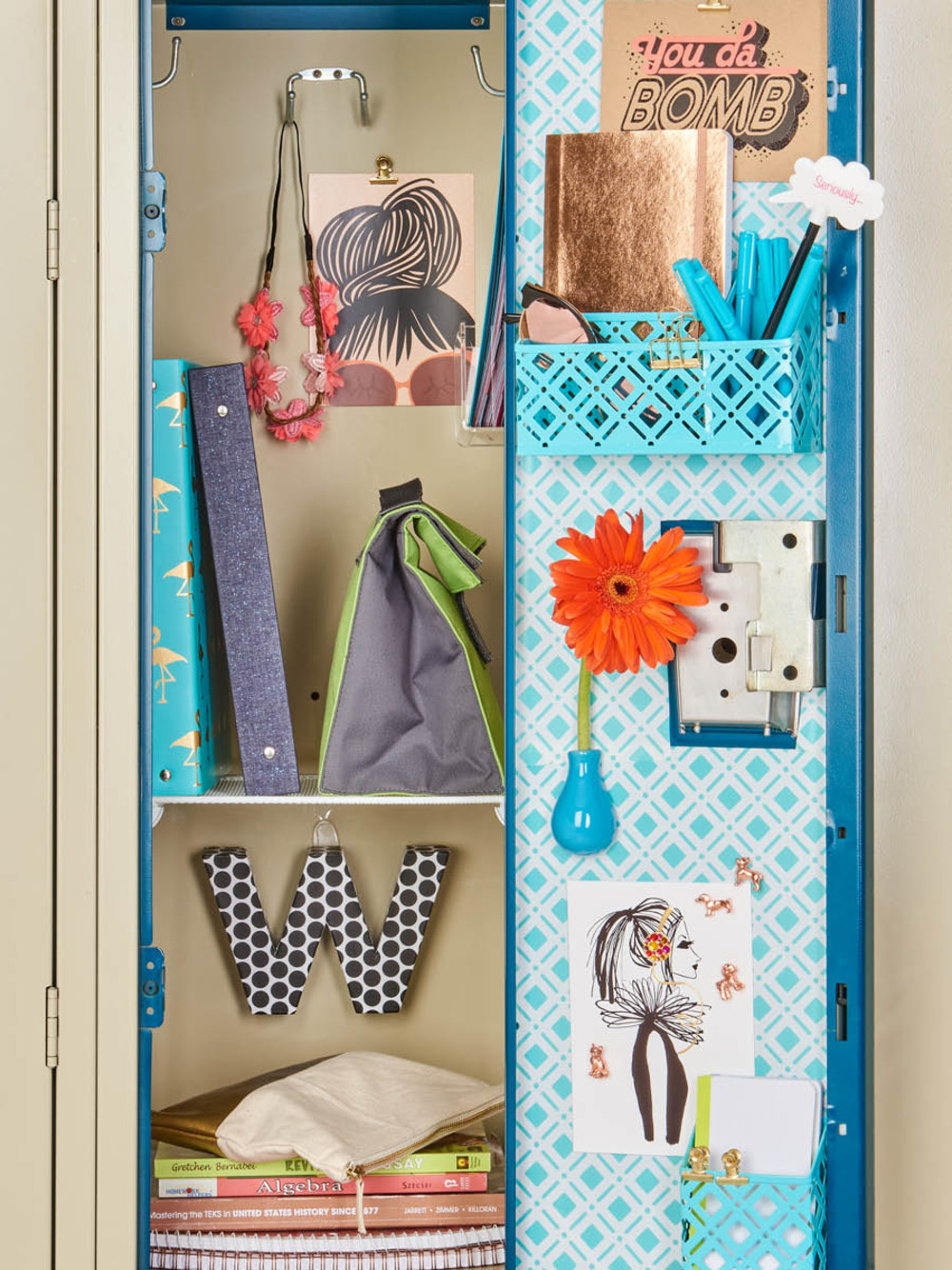 Featured Products Aqua Charleston Locker Wallpaper White Mesh Shelf Alphabet Letter Box Three By Copper Dog Cast Iron Magnets
