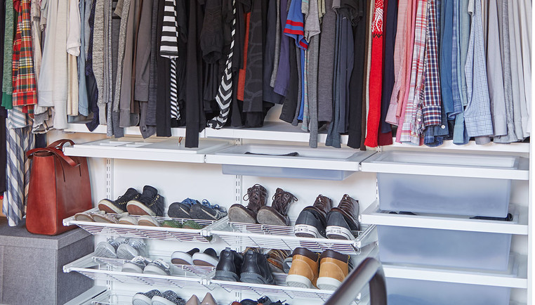 4 Steps to Cleaning Out Your Closet