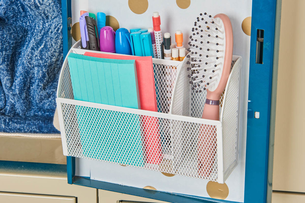 Back To School Basics Locker Organization Container Stories