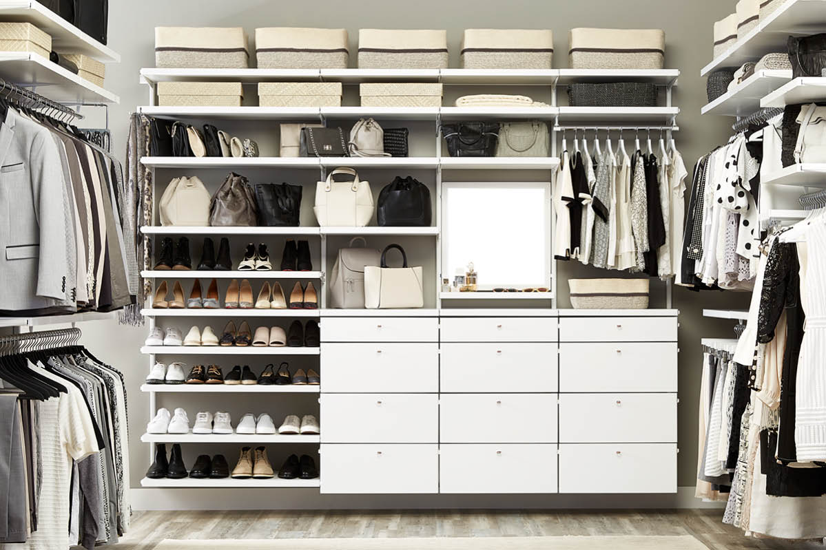 Closet Storage Ideas How To Organize Your Closet The Container Store