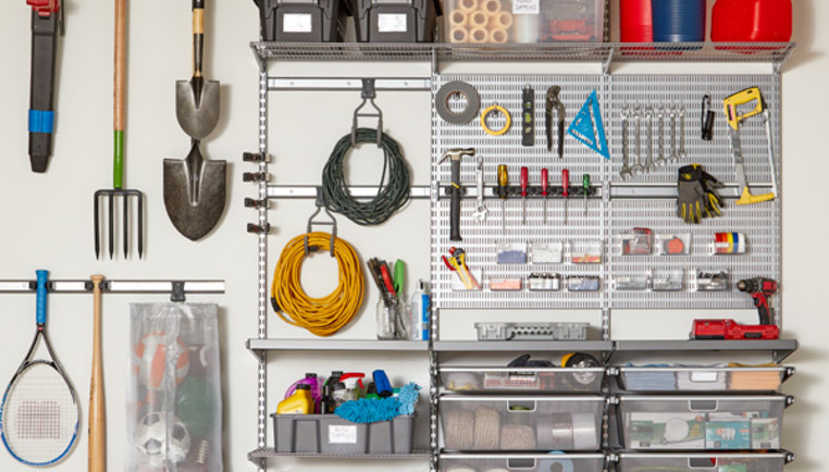 How To Organize Your Garage With Shelving