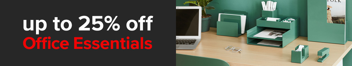 up to 25% off Office Essentials