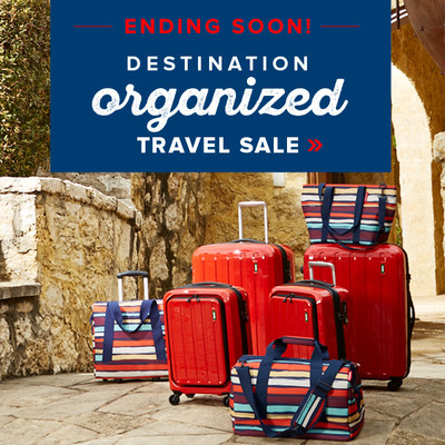 Destination Organized - TRAVEL SALE
