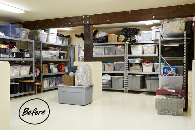 basement storage ideas a texas sized basement gets an organization
