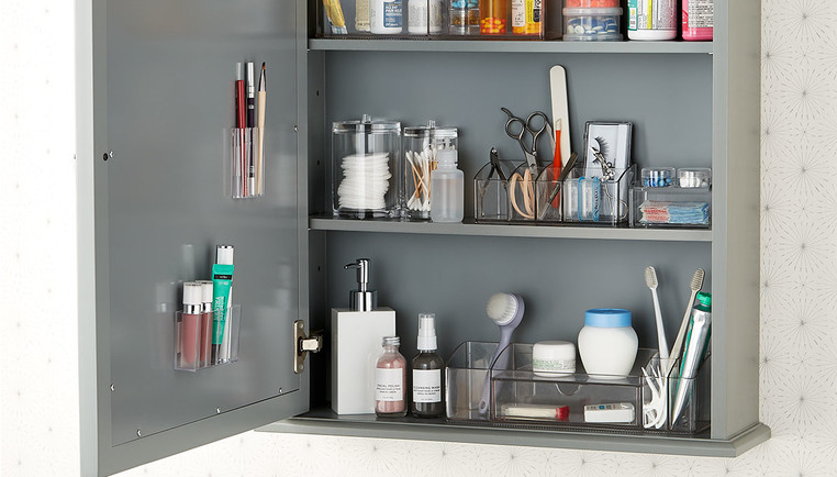 Admirable How To Organize Your Medicine Cabinet The Container Store Home Interior And Landscaping Ferensignezvosmurscom