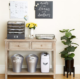 Receipt & Tax Organization Tips | The Container Store on storage ideas, mail art ideas, mail sorting ideas, organization for mail keys and ideas, organize mail office ideas, mail storage solutions,