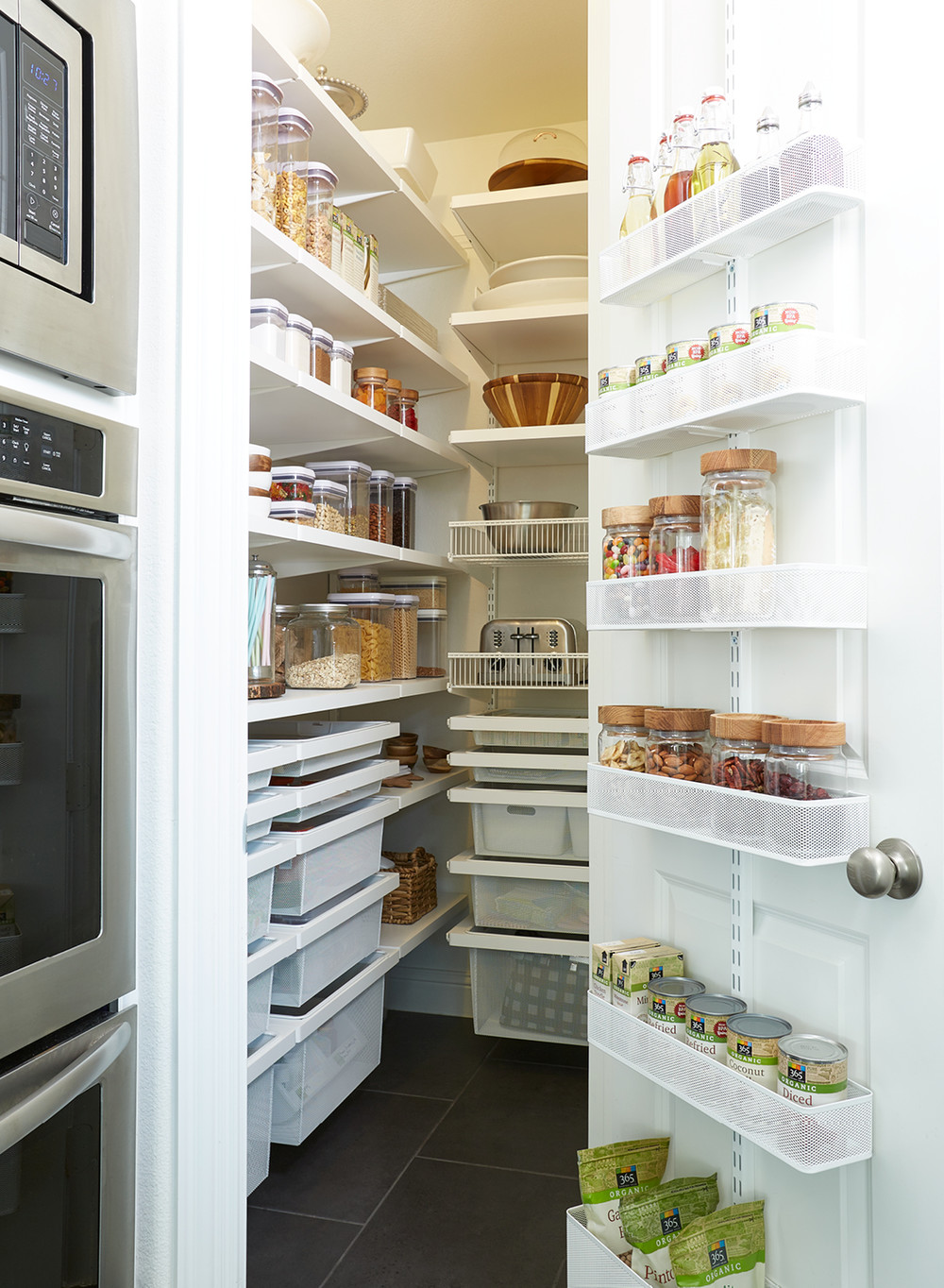 This Pantry Gets Perfected With An Elfa Transformation