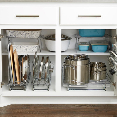 Cabinet Organizers, Kitchen Cabinet Storage & Shelf ...