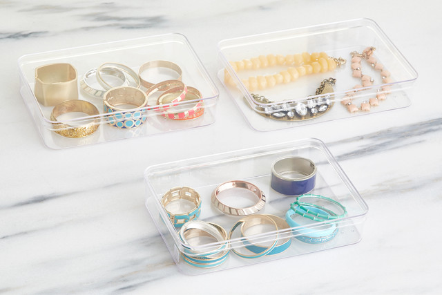Organize Your Bangles, Bracelets And More While Making Them A Beautiful  Display Piece On Any Countertop. Their Lids Allow You To Stack High, ...