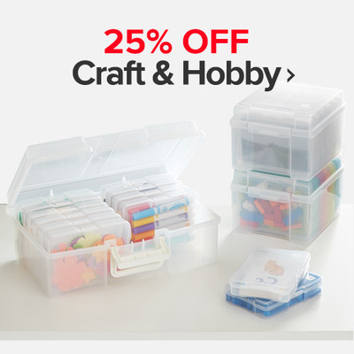 25% Off Craft & Hobby