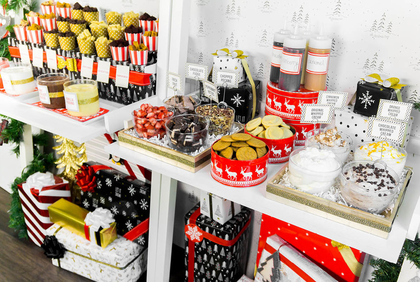 Christmas Party Ideas.Christmas Party Ideas Diy Trifle Bar Container Stories
