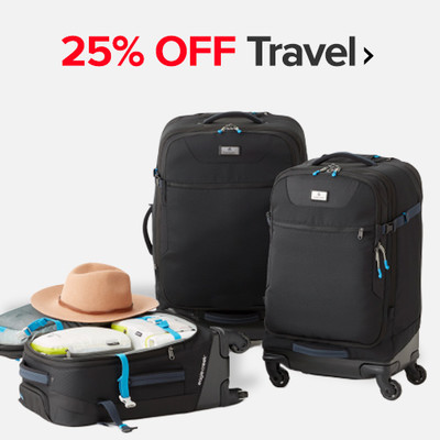25% OFF Travel